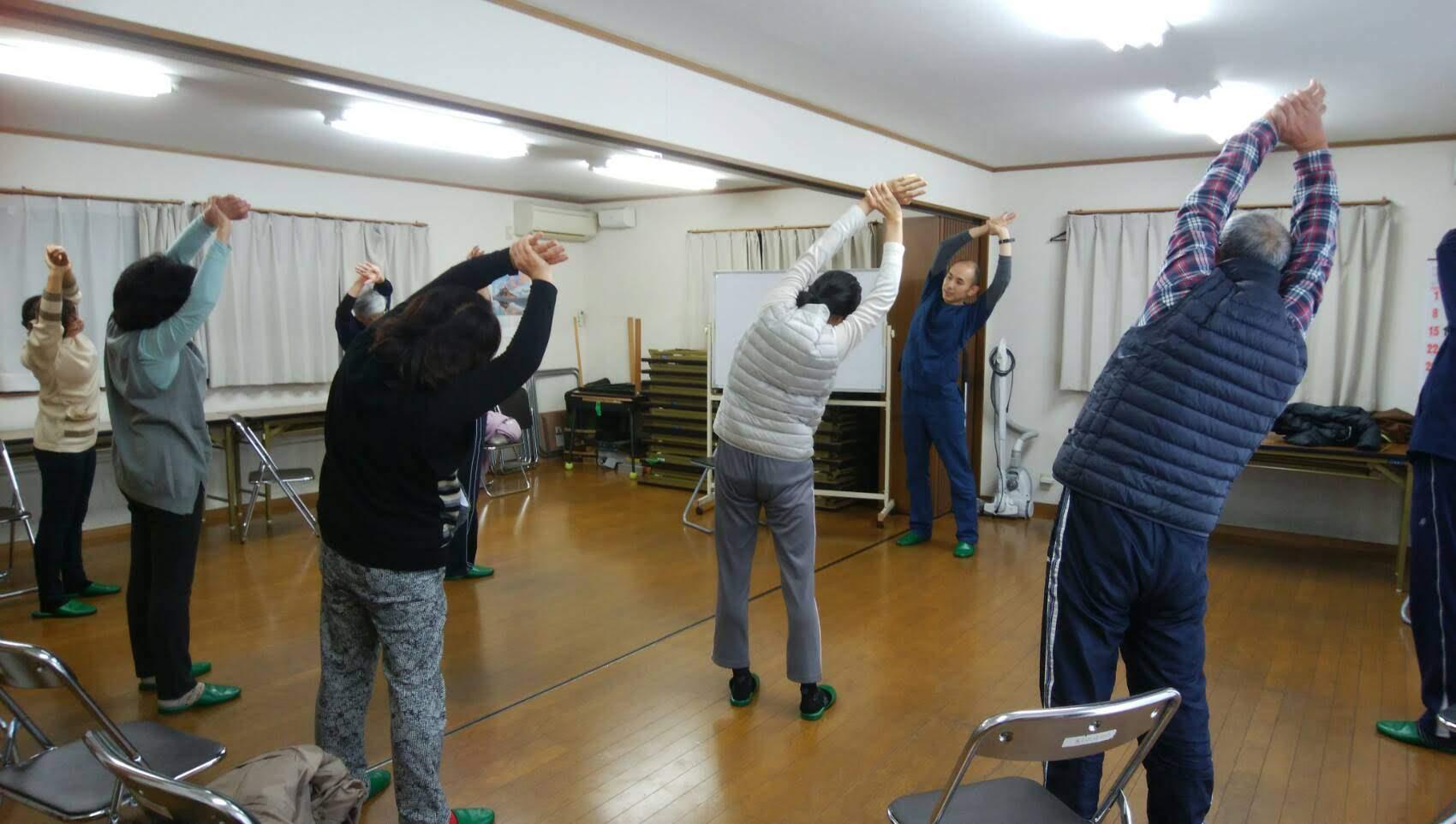 水の江自治会(市原市ちはら台)健幸体操教室やってます/整体院ホーピスト